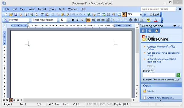 Microsoft Office 2003 SP3 ISO For Windows Download