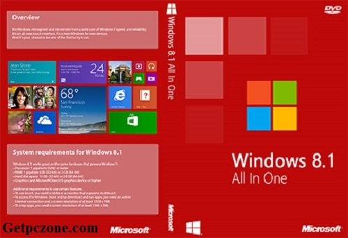 Microsoft Windows 8.1 All in One ISO Download 32-64Bit