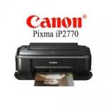 Canon Pixma IP2770 Printer Driver Download 32-64 Bit