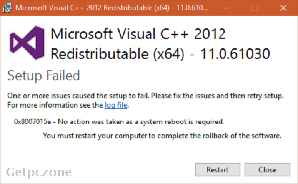Microsoft Visual C++ 2012 Redistributable (x86) - 11.0.50727 Free Download