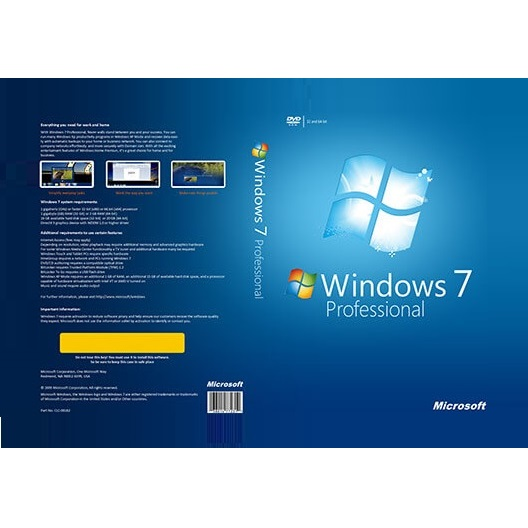 Windows 7 Professional ISO Download 32-64bit