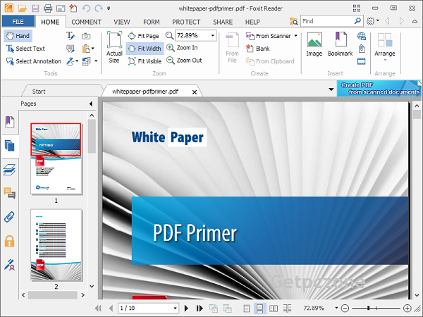 free download Foxit PDF Reader 5