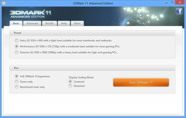 3DMark 11 Advanced Edition Download 32-64 Bit