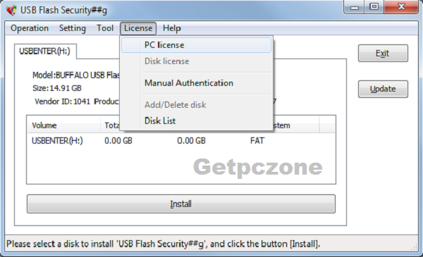 Download USB Flash Security Free