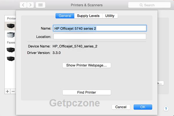 HP Officejet 5740 Printer free full