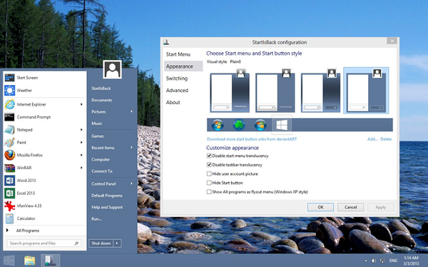 StartIsBack 2.8.2 Multilingual Download