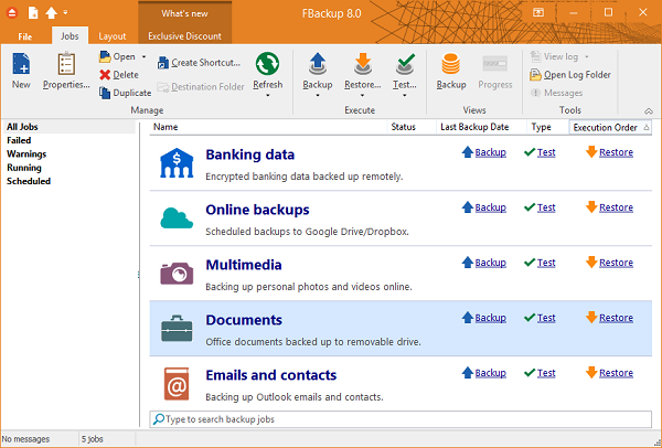 FBackup 8.0 Multilingual Download