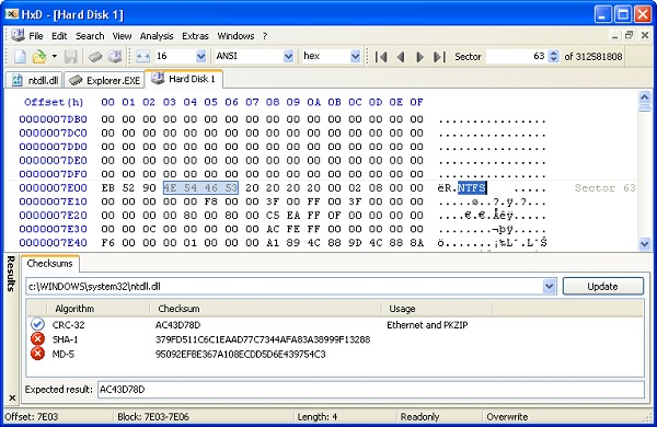 HxD Hex Editor Download 32-64 Bit For Pc