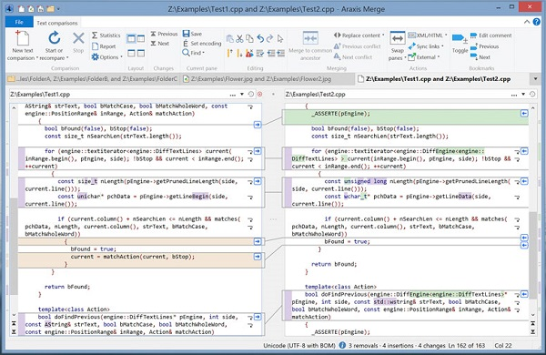 Araxis Merge Professional 2019 is a powerful program for programmers who can use Araxis Merge 2019 to compare code and files together and merge them. With the easy-to-use Araxis Merge program 2019 and the right tool for software engineers and those who do Web development. The quality control team can also compare the sources of the source code with the source code and examine the products that are being processed so that only the expected files can be modified. Reporting capabilities are also available in HTML or XML format. Features A professional tool for comparing programming codes and files. Merge and synchronize folders. Easy programming with this software. Very useful for software engineers and web developers. Very useful for publishers and quality control. Possibility to report changes as a file in HTML or XML format. Compatible with different versions of Windows.