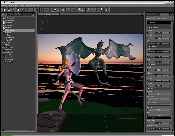 DAZ Studio Pro 2019 Download 32-64 Bit