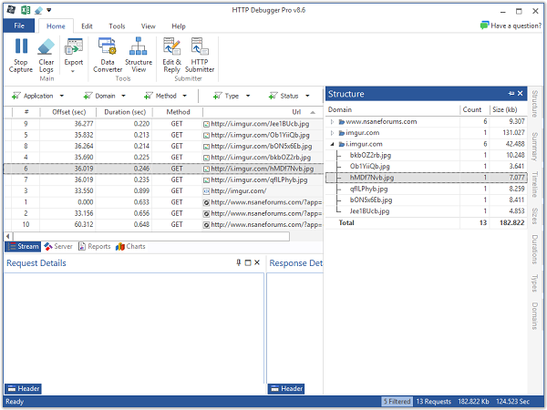 HTTP Debugger Professional 8.27 Download