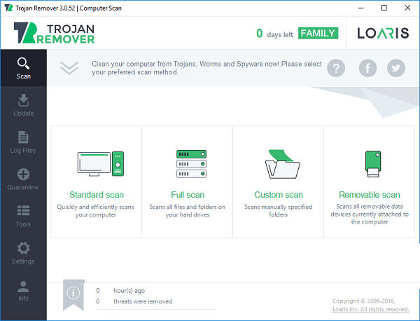 Loaris Trojan Remover 3.0.88.225 Download 32-64 Bit