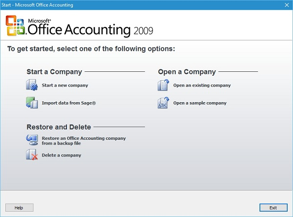 Microsoft Office Accounting Express 2009 Download