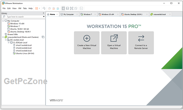 Download VMware Workstation Pro 15.5.1 Build 15018445