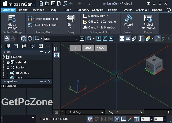 Free Download midas nGen 2020 v1.1 Build 2019-07-31 + Drawing