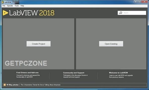 NI LabVIEW 2018 Offline Installer Download Free