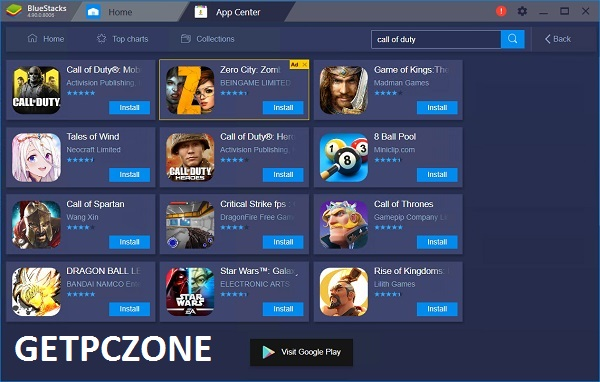 BlueStacks App Player 4.150.8.1008 Free Download