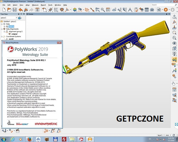 InnovMetric PolyWorks Metrology Suite 2019 IR6.1 Free Download