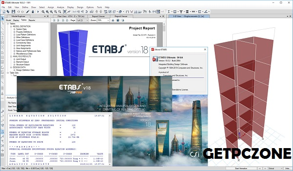 CSI ETABS v18.0.2 build 2064 Download