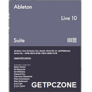 Free Download Ableton Live Suite v10