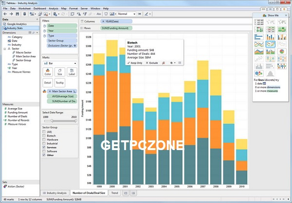 Tableau Desktop Professional Edition 2020 Free Download