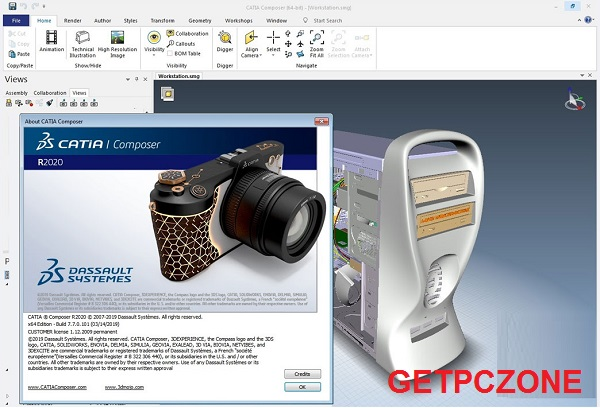 DS CATIA Composer Free Download