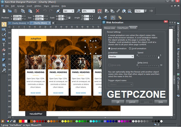 Free Download Xara Web Designer Premium 17.0.0.58775