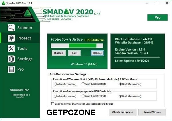 Download SmadAV Pro 2020 v13.9.2 Free Trail