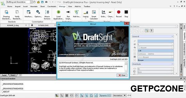 Free Download DraftSight Enterprise Plus 2020