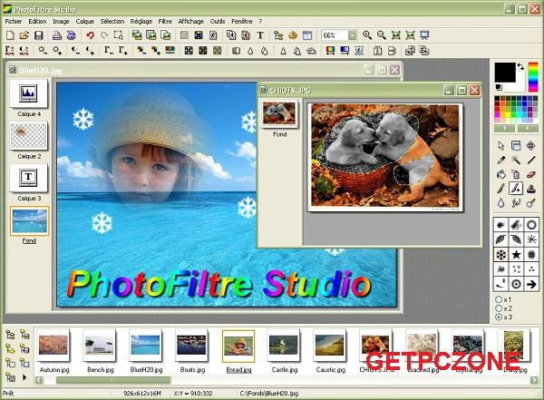 Portable PhotoFiltre Studio X 10