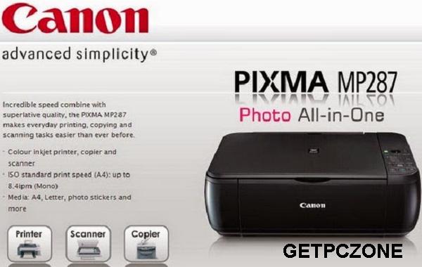 Downlaod Canon PIXMA MP287 Driver