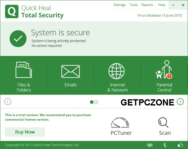 Download Quick Heal Total Security 19.0 Free