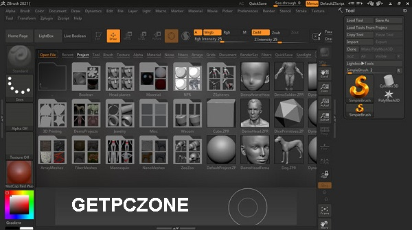 Free Download Pixologic ZBrush 2021
