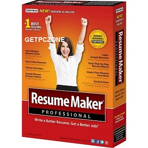 Free Download ResumeMaker Pro Deluxe 20.1.2