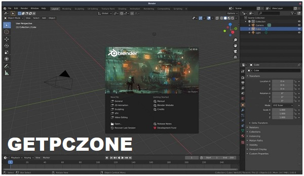 Download Blender 2.91.0 Free