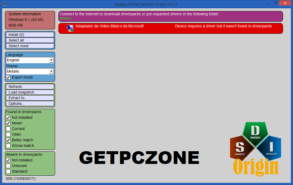 Snappy Driver Installer Origin 2020 Free Download