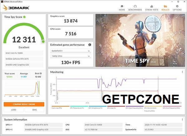 Download 3DMark 2.16 for Windows