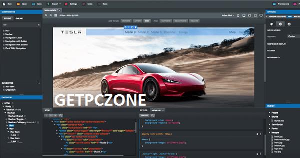 Bootstrap Studio 5.5.2 Professional Download