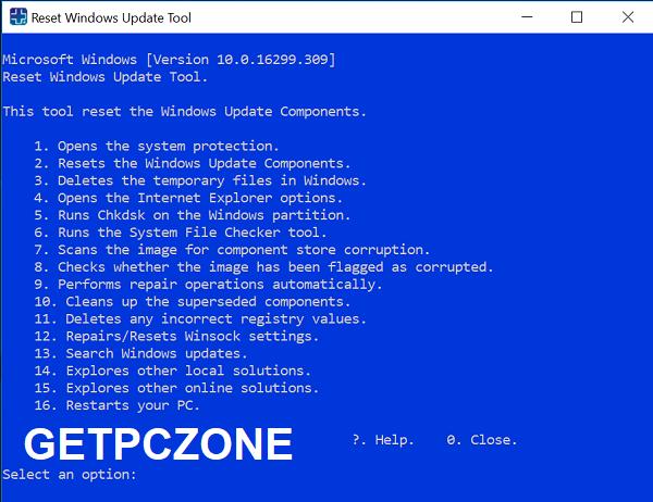 Download Reset Windows Update Tool 11.0.0.9