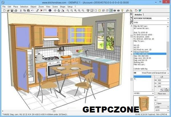 Download KitchenDraw 2021 v6.5 Free