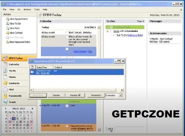 Download EssentialPIM Pro Business 9