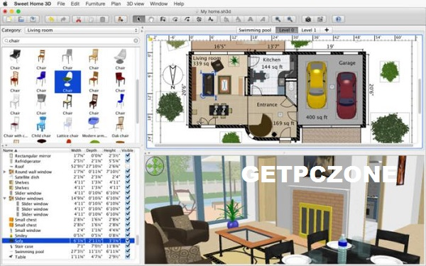 Free Download Sweet Home 3D 6.5.2
