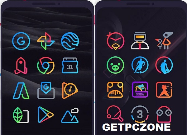 LineX Icon Pack 3.3 APK