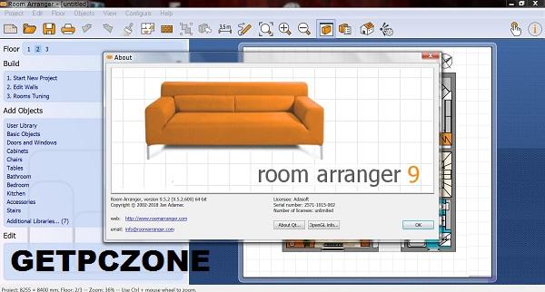 Room Arranger 9 For mac Free Download