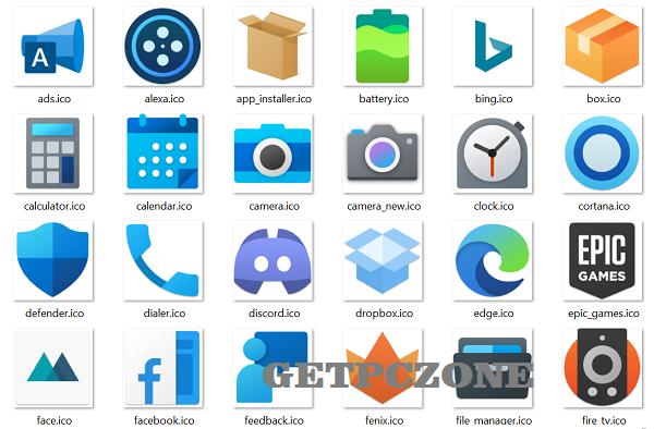 Fluent icon pack v2.3.3 APK Free Download