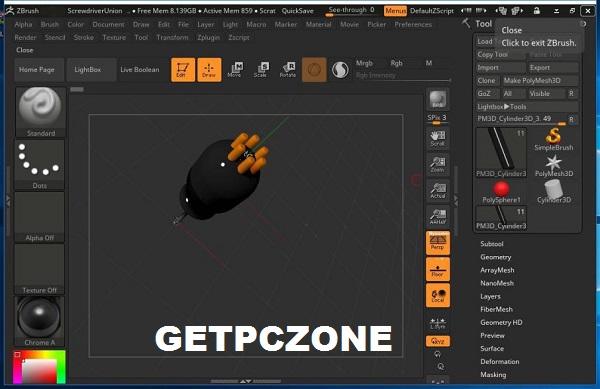 Zbrush 2021 mac Free Download