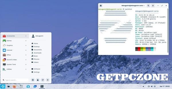 Zorin OS 16 free download