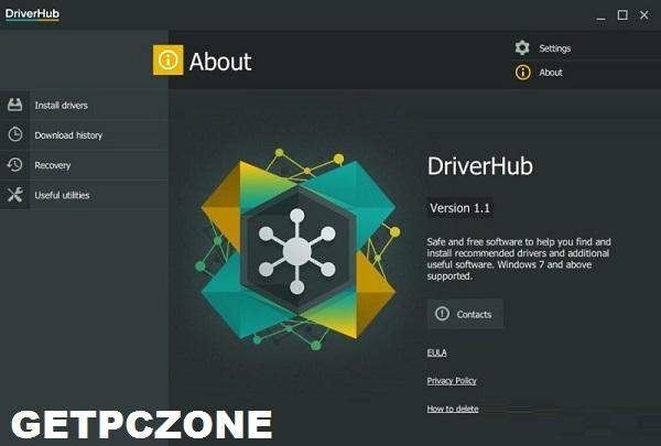 Download DriverHub 1.2.0.3148 Free 32-64