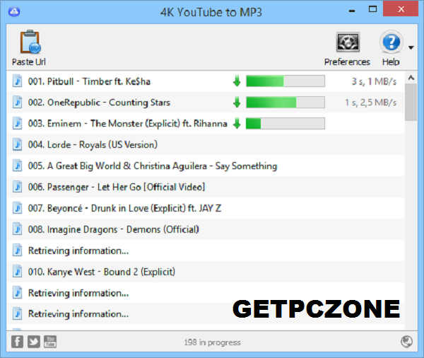 4K YouTube to MP3 4 for Mac